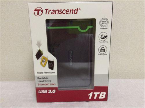 トランセンドのポータブルHDD「TS1TSJ25M3」を購入