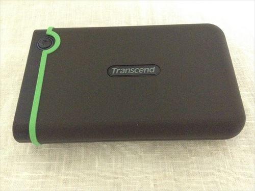 トランセンドのポータブルHDD「TS1TSJ25M3」