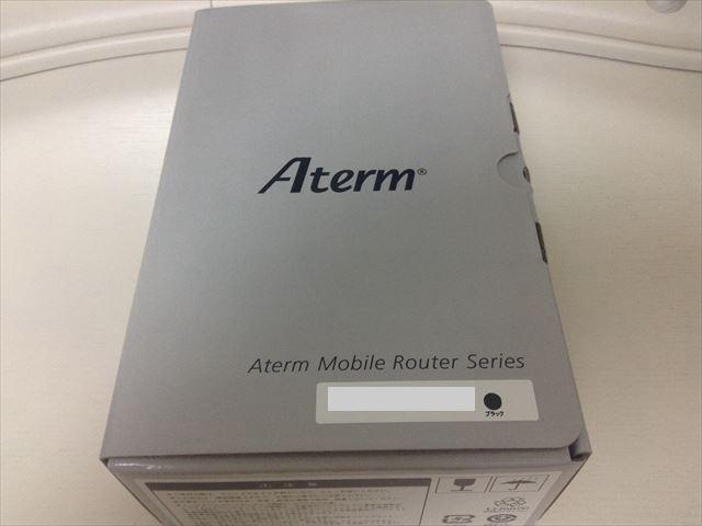 モバイルルーターNEC「Aterm MR04LN」本体
