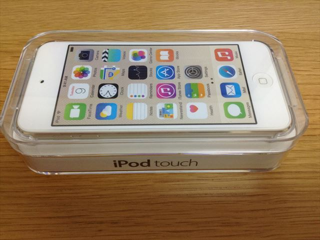 iPod touch 6th(第6世代)開封