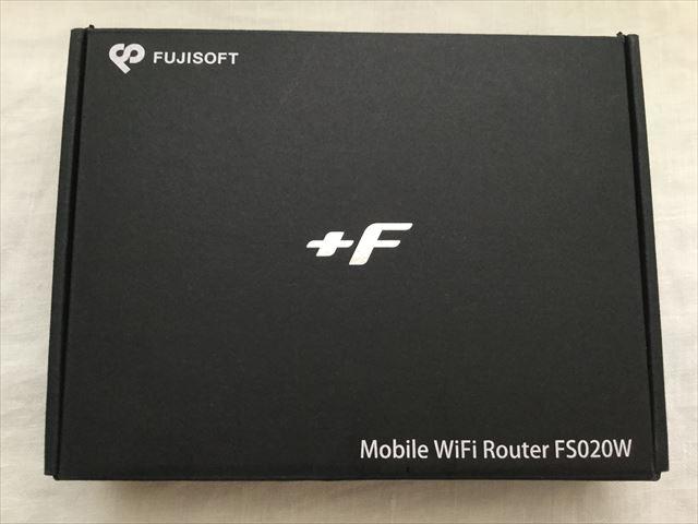 スマモバ「+F FS020W」外箱