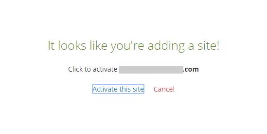 Wordpressプラグイン「Akismet」設定、このサイトをアクティベートする
