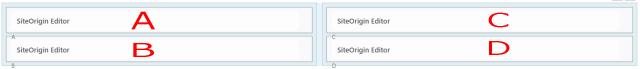 WPプラグイン「Page Builder by SiteOrigin」複数分割