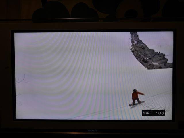 Fire TV Stickを使ってテレビでAbemaTVを見る、スノーボードの番組