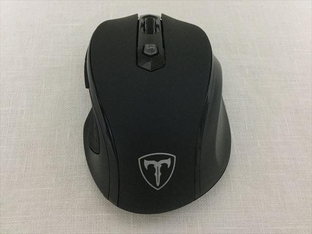 Qtuo2.4Gワイヤレスマウス、本体