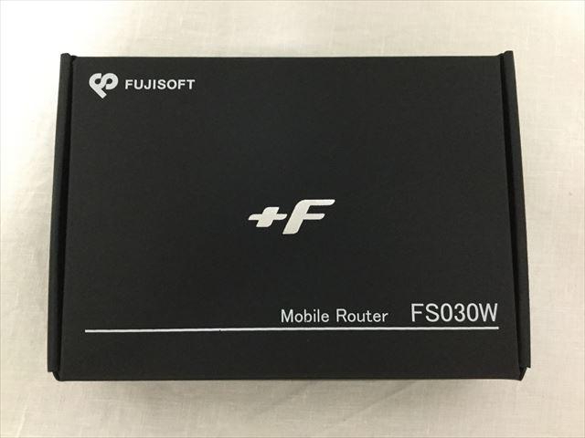 スマモバ「+F FS030W」パッケージ