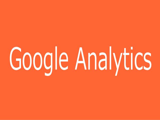 Googleアナリティクスの文字