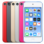 iPod touch第7世代(7th)6色