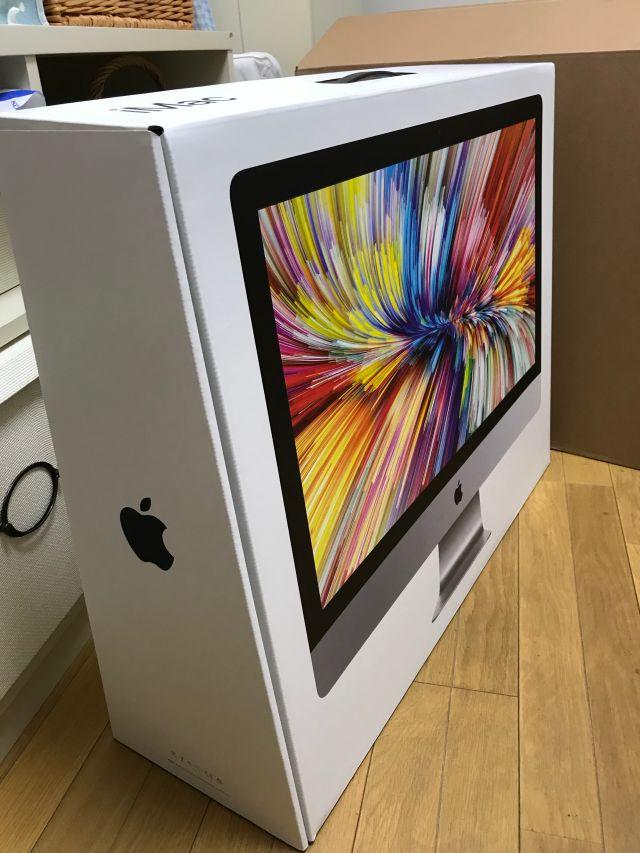 iMac27インチ(2019年版・i9)パッケージ