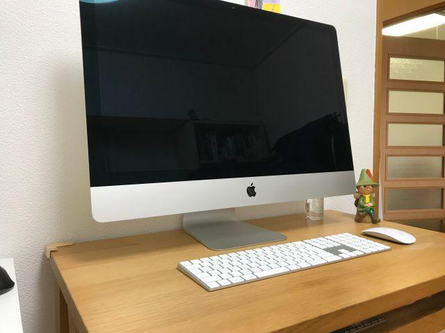 iMac27インチ(2019年版・i9)を設置