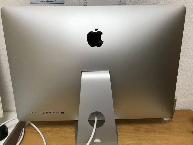iMac27インチ(2019年版・i9)後ろ側