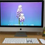 iMac27インチ(2019年版・i9)初期設定が完了し使えるようになった画面
