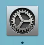 Macの「システム環境設定」アイコン
