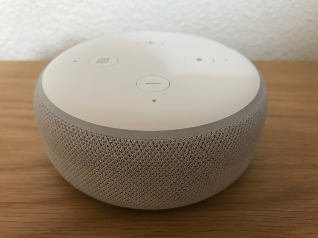 Amazon「Echo Dot」第3世代本体