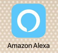 アプリ「Amazon Alexa」のアイコン