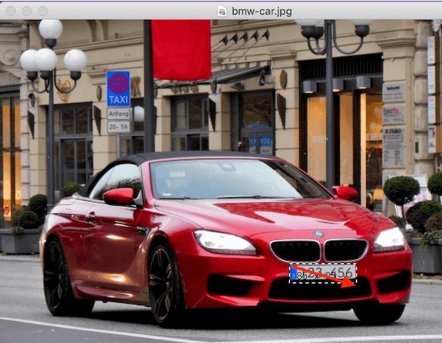 Macアプリ「ToyViewer」モザイクをかける場所を指定しボタンを押す