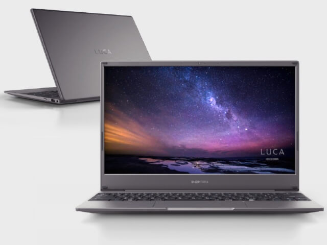 アイリスオーヤマのノートパソコン「LUCA Note PC(IPC-AA1401-HM)」