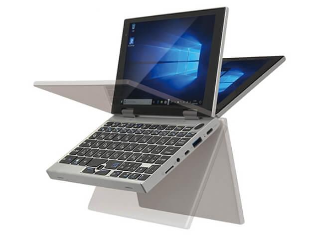 ドンキホーテの2021年版ノートPC「NANOTE P8」(UMPC-02-SR)